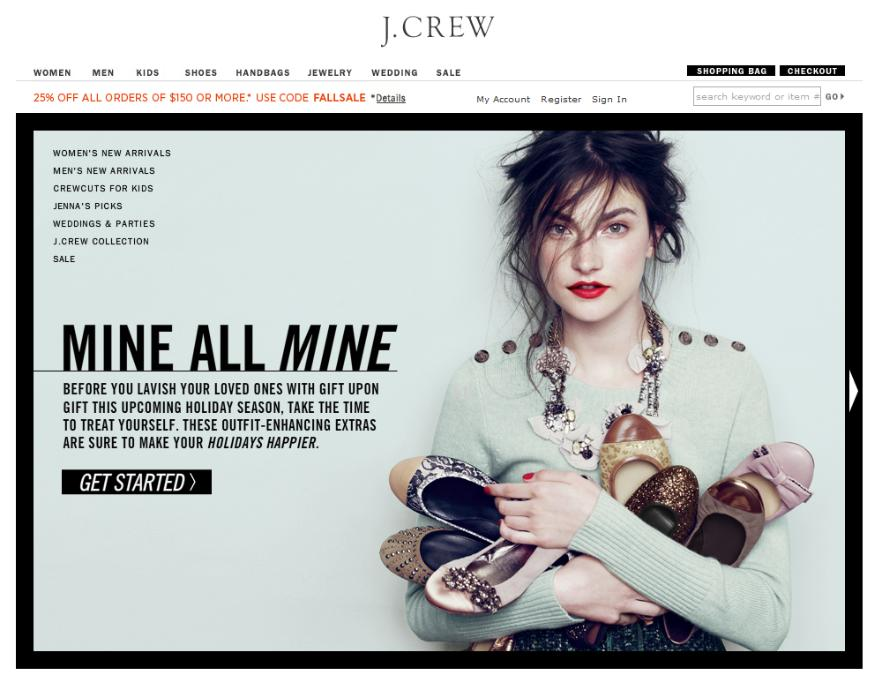 J.Crew Holiday Campaign